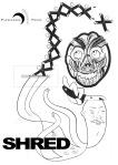 Shred illustration